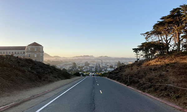 Closed Presidio roads