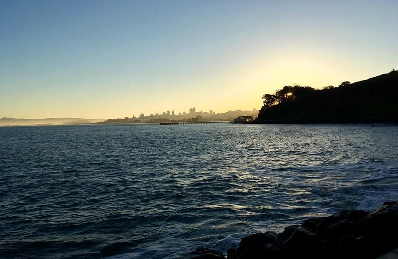 Morning light from Hopper Hands