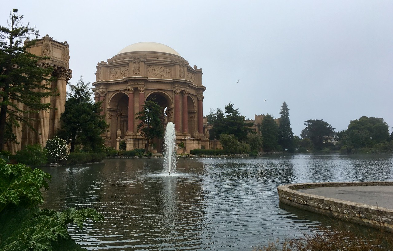 Palace of Fine Arts (not on a fine day)