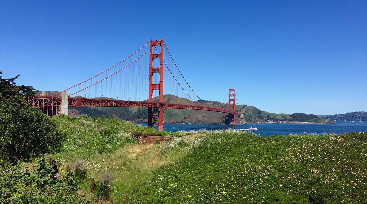 Golden Gate Bridge in all its glory