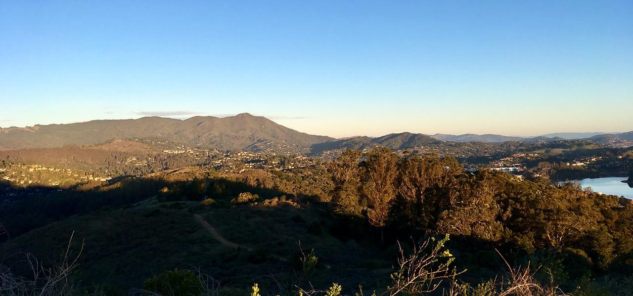 Mt Tam in the morning light