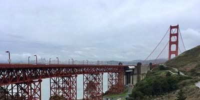 Rainy mornings for tourist-free bridge