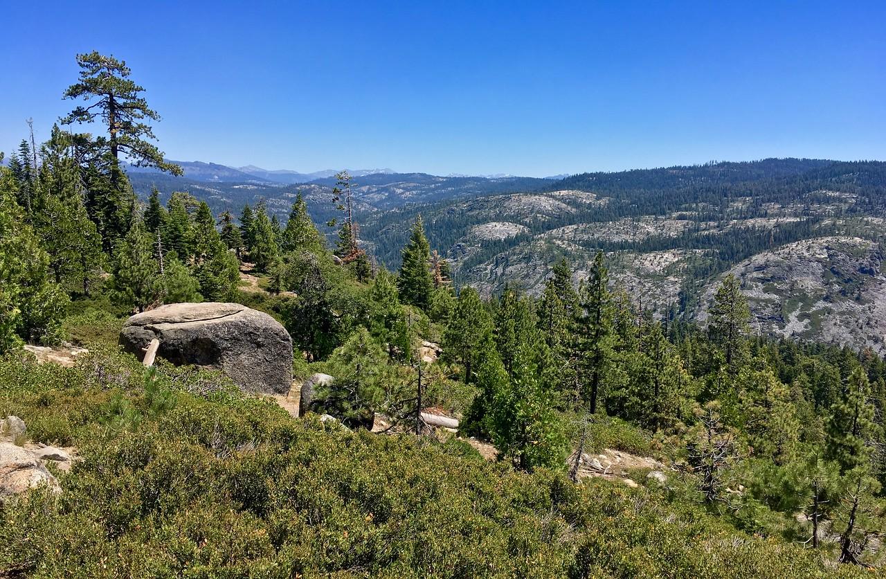 Approaching Bear Valley - still no bears!!!