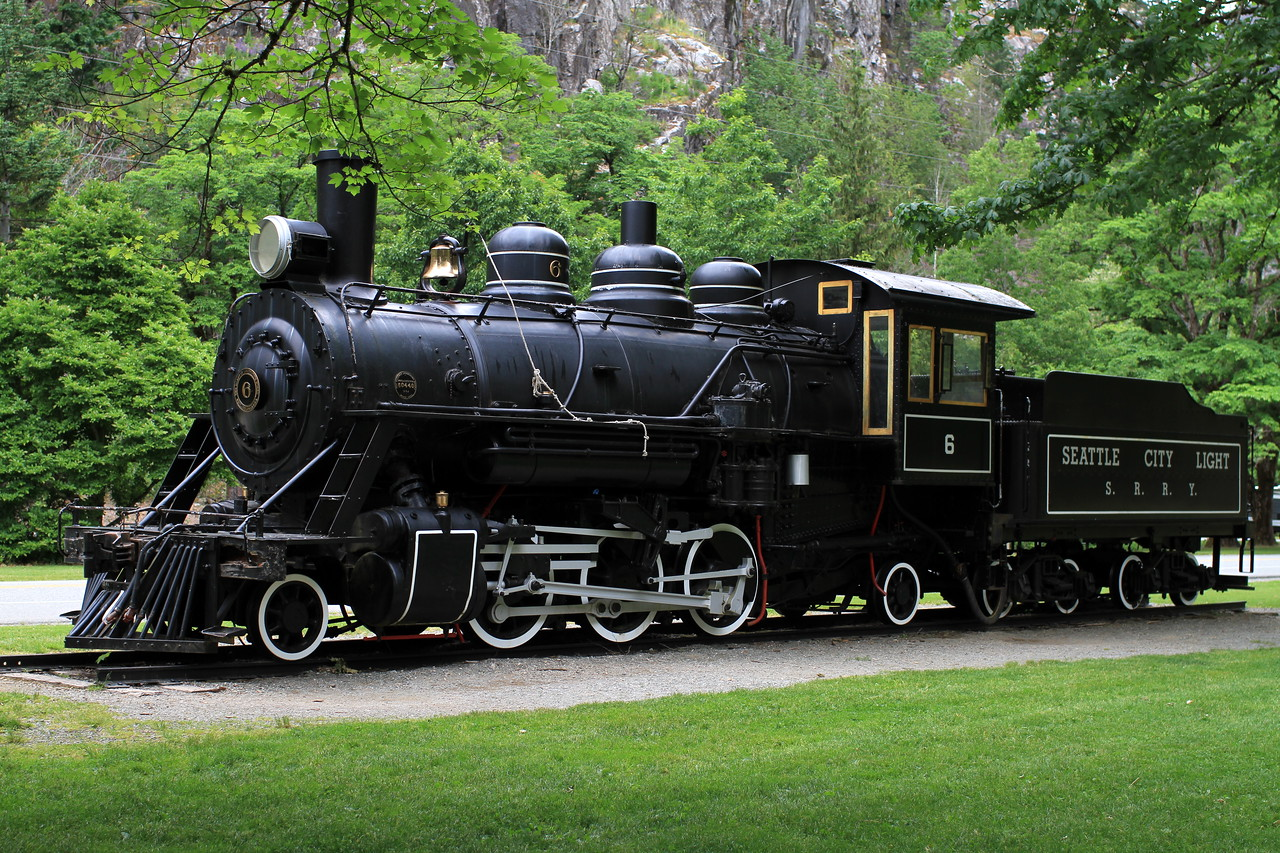 Skagit River Railway Locomotive