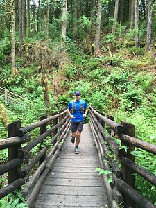 We started our trip with Wallace Falls run