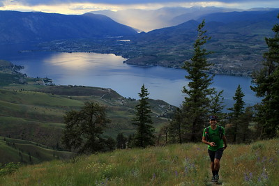 Almost at the end of Chelan Butte Trail