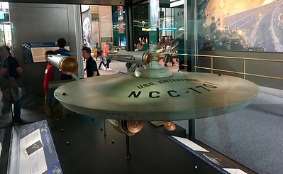 U.S.S. Enterprise on display too!