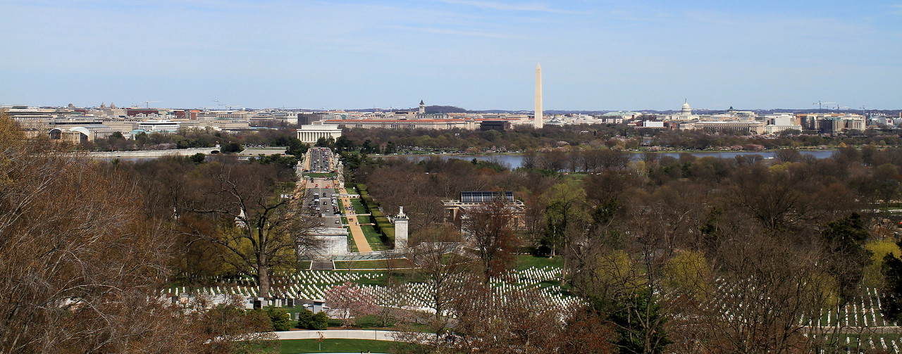 View from Arlington House