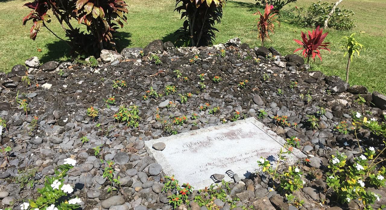 Charles Lindbergh's Grave