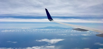 First view of Hawaii