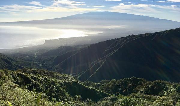 Sun over Maui