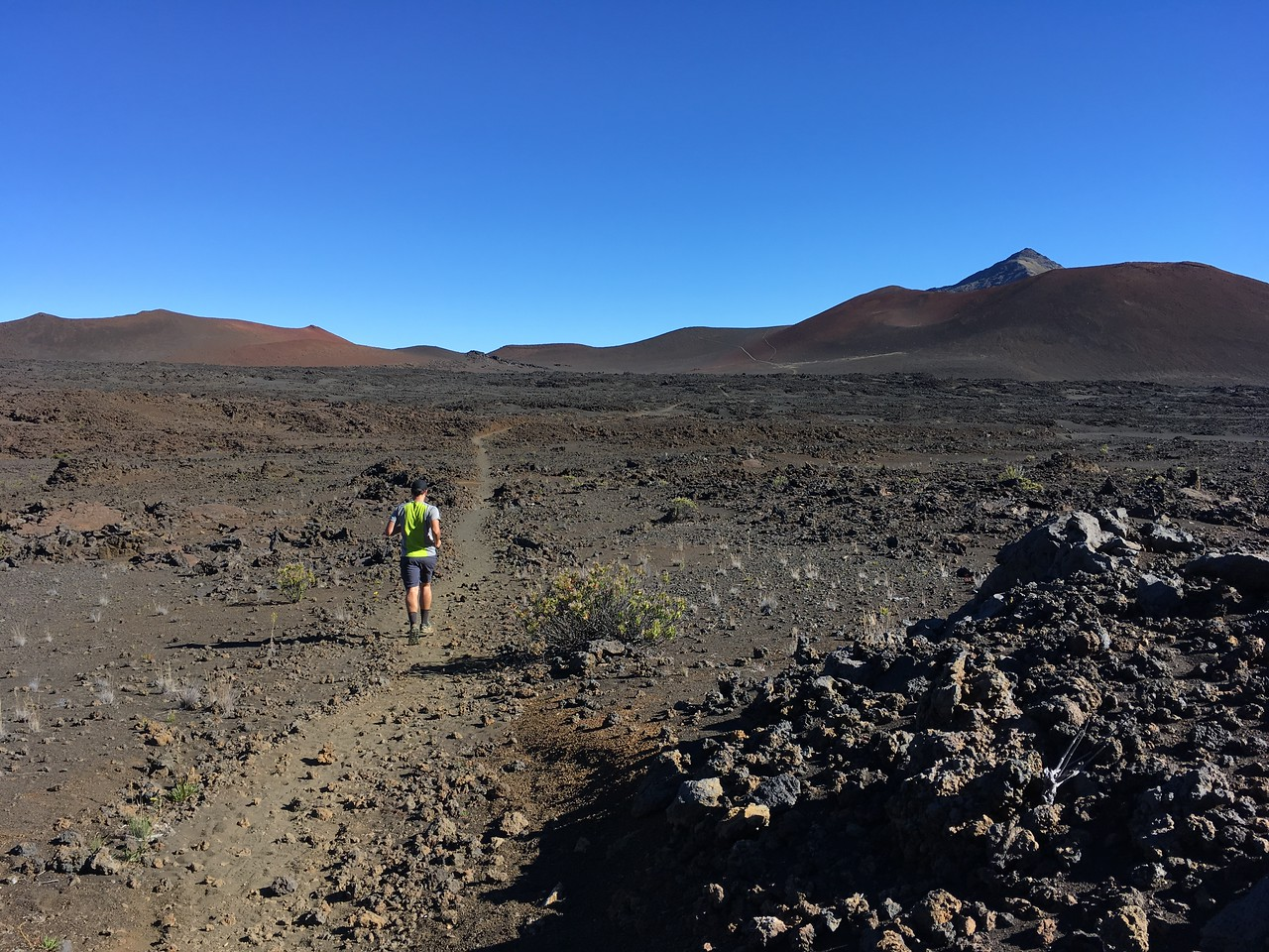 Crater Running at 3000m