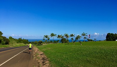 Morning Run Along Hana Hwy