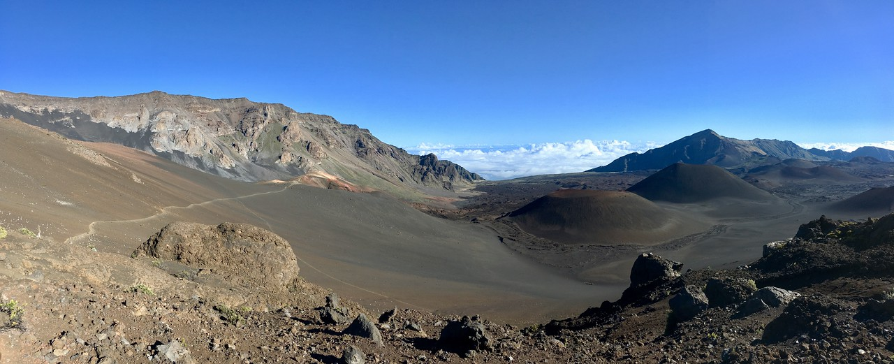 Crater trail on Haleakalā