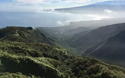 View of Kahului from Waihee