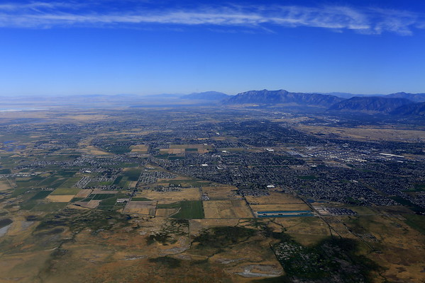 Landing in Salt Lake City