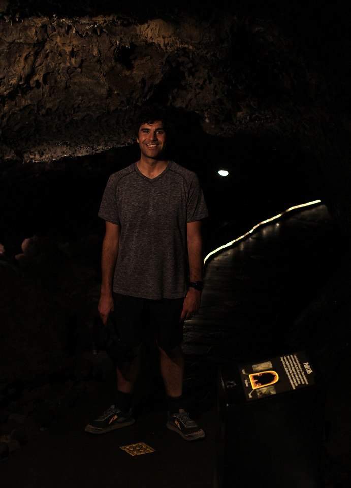The lights were randomly tunring off and we didn't bring our headlamps O.o