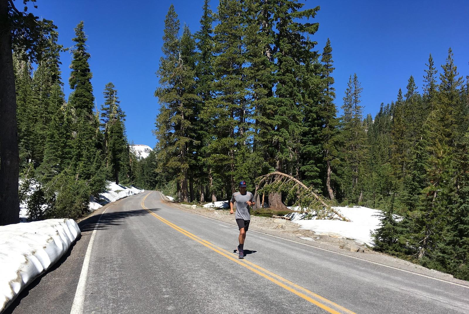 Graham ran his 5km PB