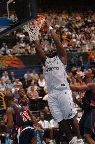 USA v Greece - Worlds 2006