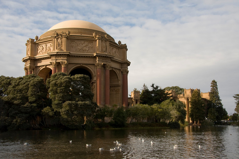 The Palace of Fine Arts, San Francisco, CA