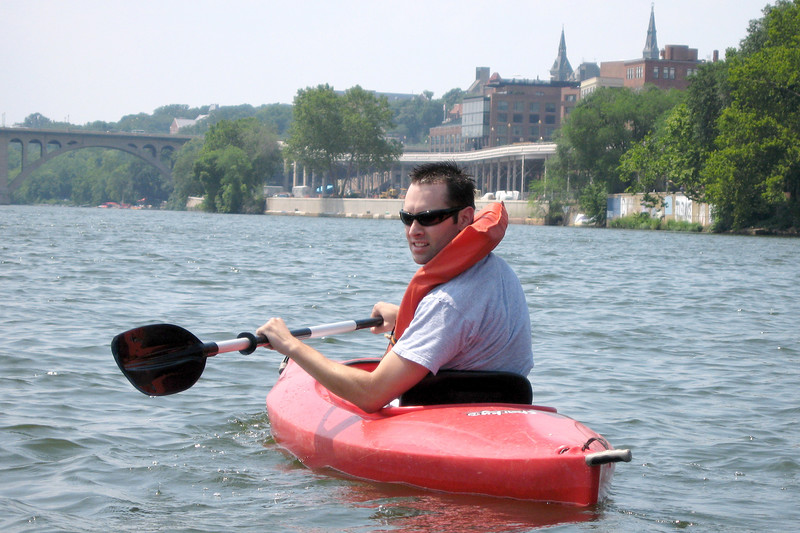 Kayaking the Potomoc