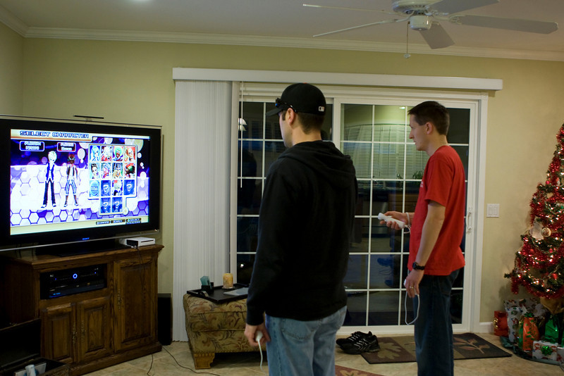 """Wii Dance Dance Revolution! """"Let me hear you say Left...left...Right...right...."""""""