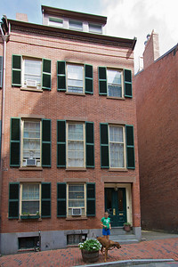 Beacon Hill - our old apartment building