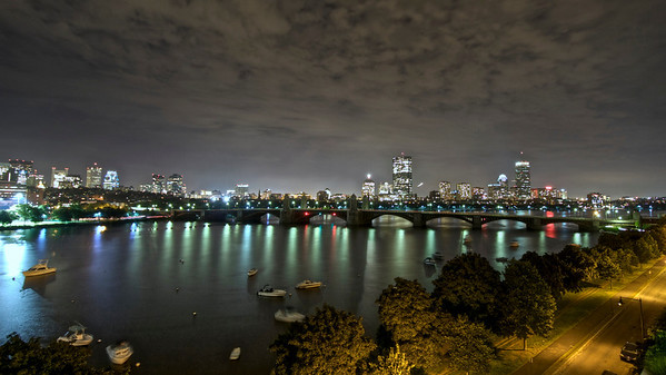 Charles River, View of Boston