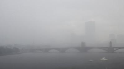 Mist over Charles River
