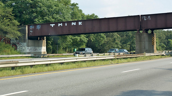 Think. Sign on Route 128