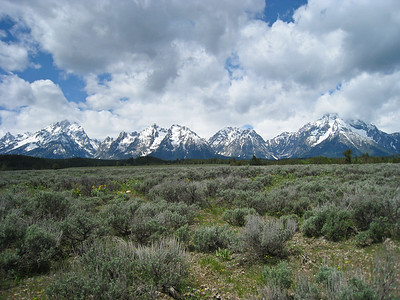 The mountains of Grand Teton National Park