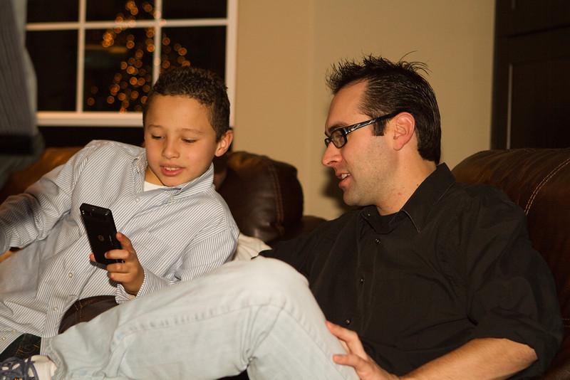 Robert got an iphone, seriously?