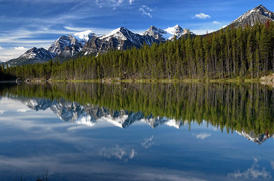 Herbert lake, au km3