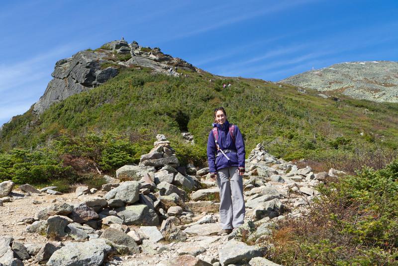 Lions Head on the left, Mount Washington summit on the right
