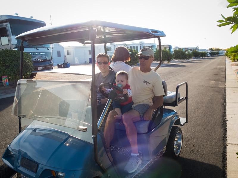 Cruising the RV park