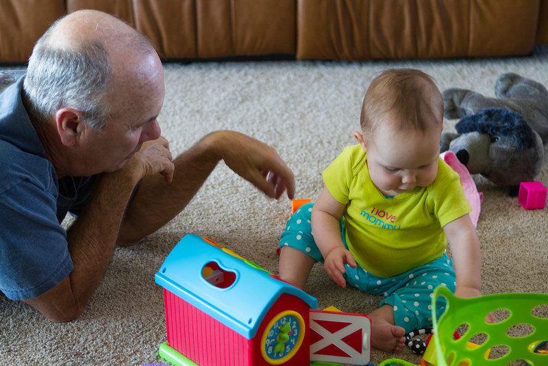 Playing with the Papa!