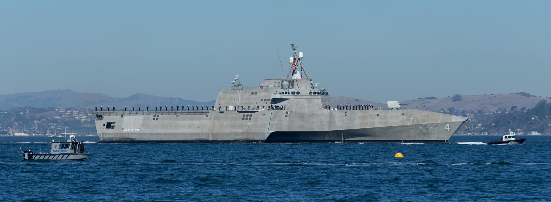 San Francisco Fleet Week / USS Coronado