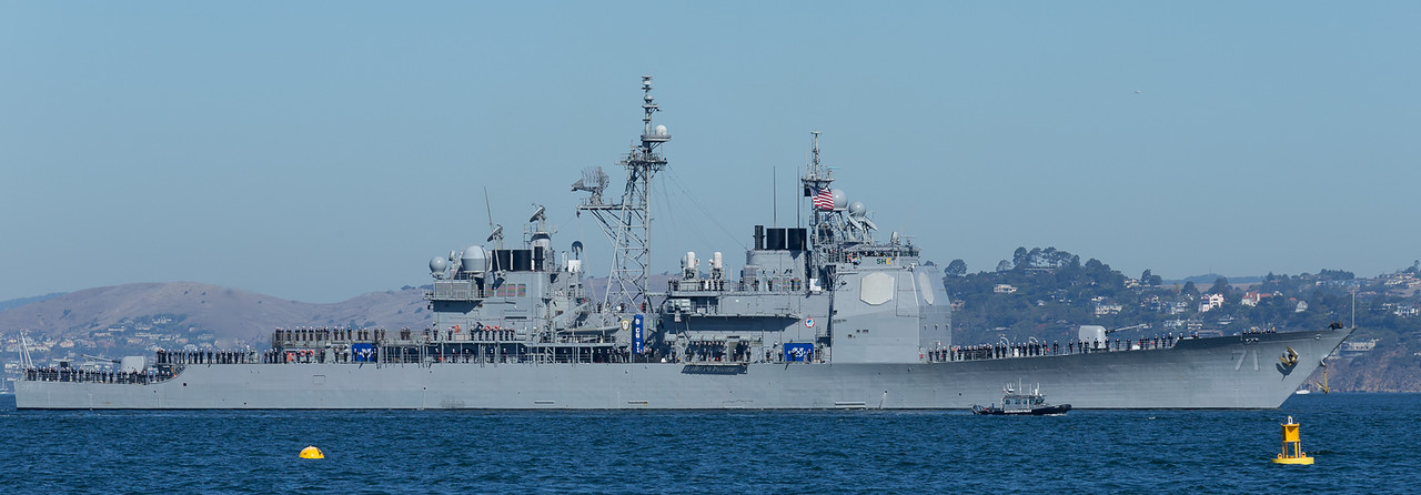 San Francisco Fleet Week / USS Cape St. George