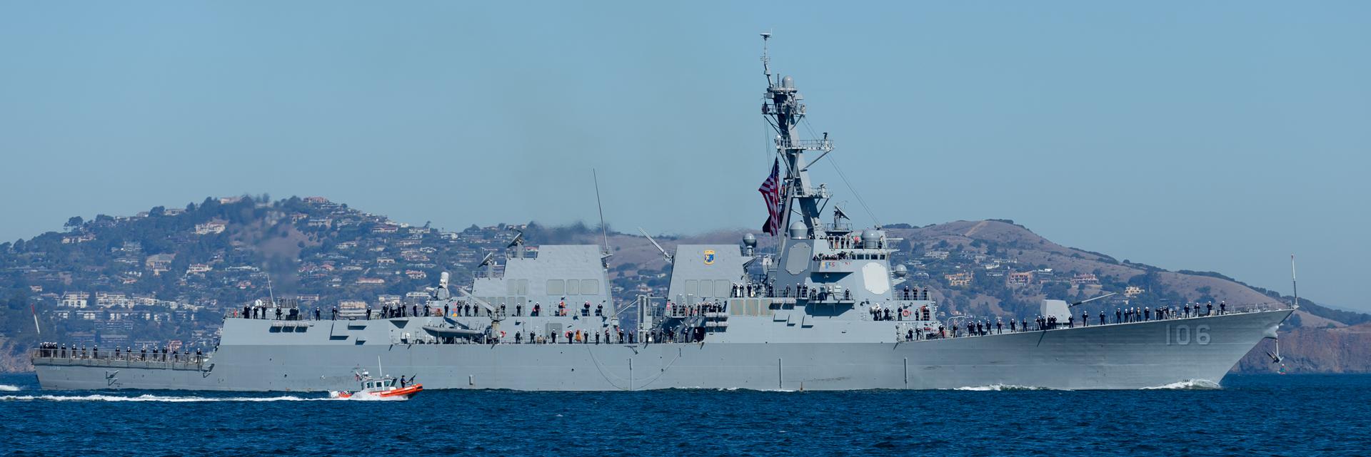 San Francisco Fleet Week / USS Stockdale
