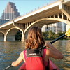 Kayaking to Congress Bridge