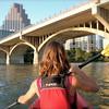 Kayaking to Congress Bridge