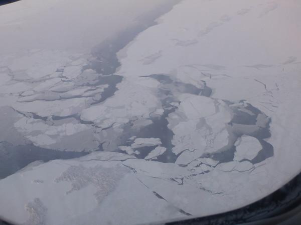 Survol de la baie d'Hudson