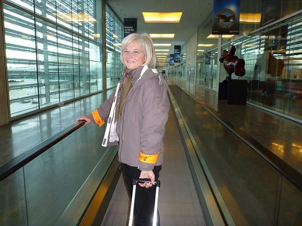Départ pour l'aéroport de Blagnac ce matin, jeudi 26 janvier 2012, pour un loooooong voyage jusqu'à Phoenix, Arizona