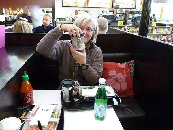 A Londres, on se fait un sushi bar dans l'aéroport
