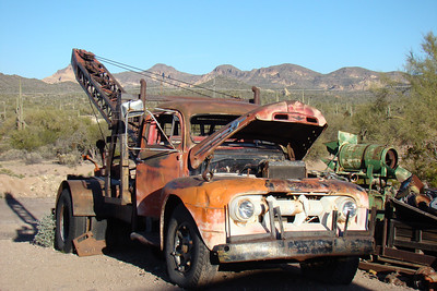 2012 04 fev Goldfield, Apache Trail, Lost Dutchman