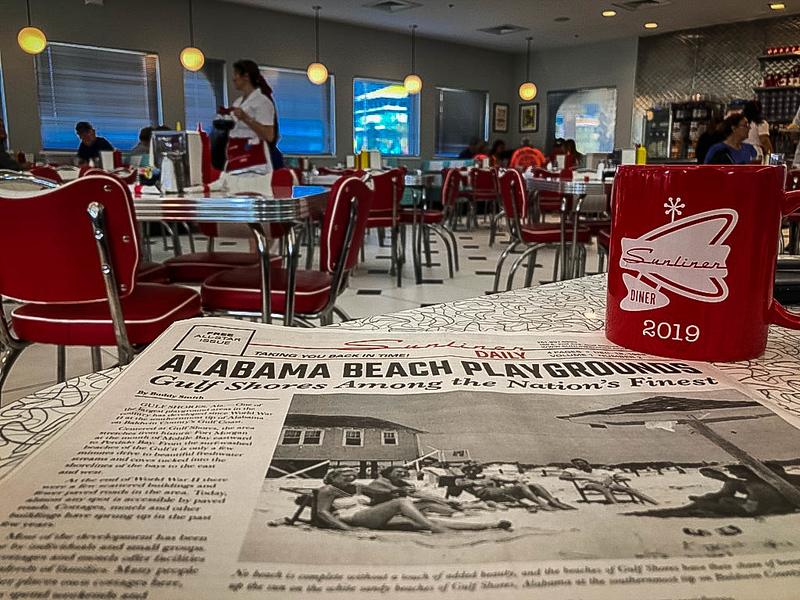sunliner diner gulf shores