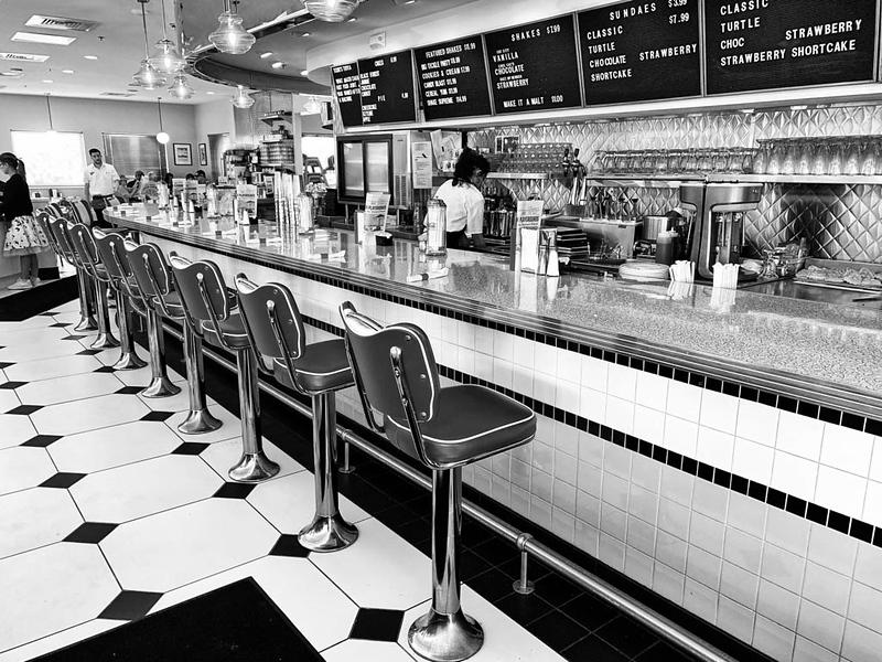 sunliner diner bar
