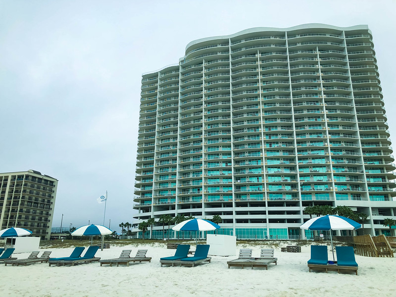 turquoise place orange beach