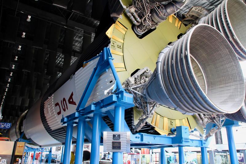 Saturn V rocket at Huntsville Space and Rocket Center