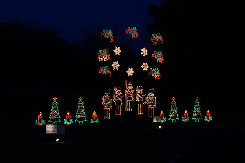 The Galaxy of Lights - Huntsville Botanical Gardens